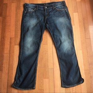 Silver McKenzie Jean's size 20/32